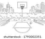 Basketball Court Street Sport...