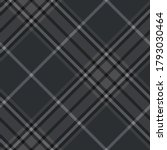 dark grey plaid pattern.... | Shutterstock .eps vector #1793030464