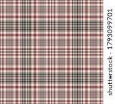 glen plaid pattern in black ... | Shutterstock .eps vector #1793099701
