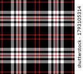 tartan check pattern in black ... | Shutterstock .eps vector #1793105314