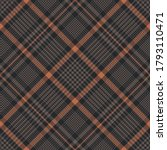 Plaid Pattern In Brown And...