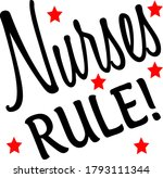 this nurses rule design can be... | Shutterstock .eps vector #1793111344
