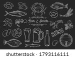 beer and snacks  pub shop icons.... | Shutterstock .eps vector #1793116111