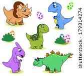 dino baby | Shutterstock . vector #179314274