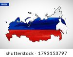national day of russia country. ... | Shutterstock .eps vector #1793153797