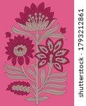 abstract flower motif butta...   Shutterstock .eps vector #1793212861