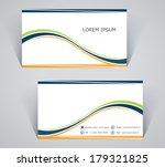 business card  simple template...