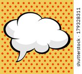 pop art comic speech bubble | Shutterstock .eps vector #179328311