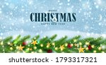 merry christmas and happy new... | Shutterstock .eps vector #1793317321