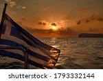 Sailing Boat Sunset In...
