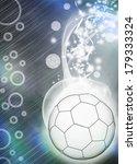 handball match invitation... | Shutterstock . vector #179333324