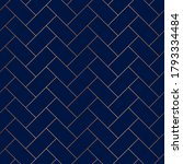 gold seamless pattern.... | Shutterstock .eps vector #1793334484