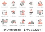 vector set of linear icons... | Shutterstock .eps vector #1793362294