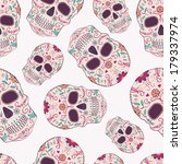 vector seamless pattern with...   Shutterstock .eps vector #179337974