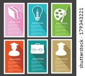 education banner vector | Shutterstock .eps vector #179343221