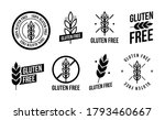 collection gluten free seals.... | Shutterstock .eps vector #1793460667