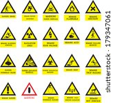 labels facility warning | Shutterstock .eps vector #179347061