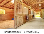 Stable Barn With Beam Ceiling...