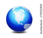 globe | Shutterstock .eps vector #179352905