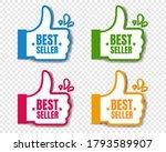 bestseller stickers isolated... | Shutterstock .eps vector #1793589907