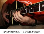 The Fretboard Of An Old...