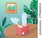 vector illustration with a... | Shutterstock .eps vector #1793663014