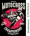 Shirt Design Of Motocross...
