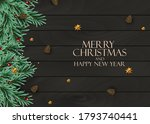 holiday new year and merry... | Shutterstock .eps vector #1793740441