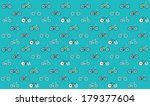 vintage bikes   fixed gear  ... | Shutterstock .eps vector #179377604