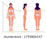 perfect healthy body. full...   Shutterstock .eps vector #1793806147