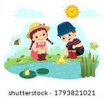 vector illustration cartoon of... | Shutterstock .eps vector #1793821021