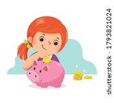 vector illustration cartoon of... | Shutterstock .eps vector #1793821024