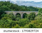 The Balder Viaduct on the disused railway line between Barnard Castle and Middleton-in-Teesdale
