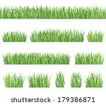 floral spring nature border... | Shutterstock .eps vector #179386871