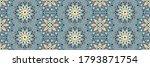 seamless floral pattern.... | Shutterstock .eps vector #1793871754