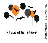 halloween  party banner .... | Shutterstock .eps vector #1793900707