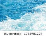 Natural Background Blue Sea...
