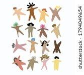 bodies vector illustration for... | Shutterstock .eps vector #1794049654