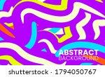 abstract flat purple fluid...   Shutterstock .eps vector #1794050767
