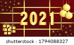 Golden 2021 Numbers. Soleted...