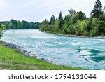 Mountain River In Bavaria ...