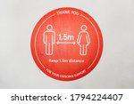 sydney  australia 2020 08 covid ... | Shutterstock . vector #1794224407