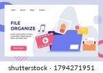 file organize music video...   Shutterstock .eps vector #1794271951
