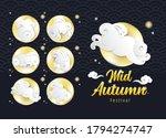 mid autumn festival design... | Shutterstock .eps vector #1794274747