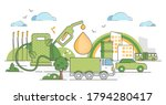 biofuel renewable energy as... | Shutterstock .eps vector #1794280417