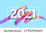 colorful brushstroke paint... | Shutterstock .eps vector #1794293644