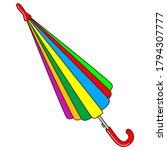 An Umbrella Vector Illustration....