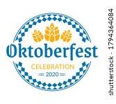 oktoberfest logo  badge or...   Shutterstock .eps vector #1794364084