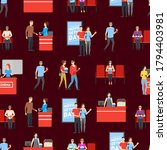 cartoon characters people in... | Shutterstock .eps vector #1794403981