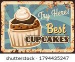cupcake dessert rusty metal...   Shutterstock .eps vector #1794435247